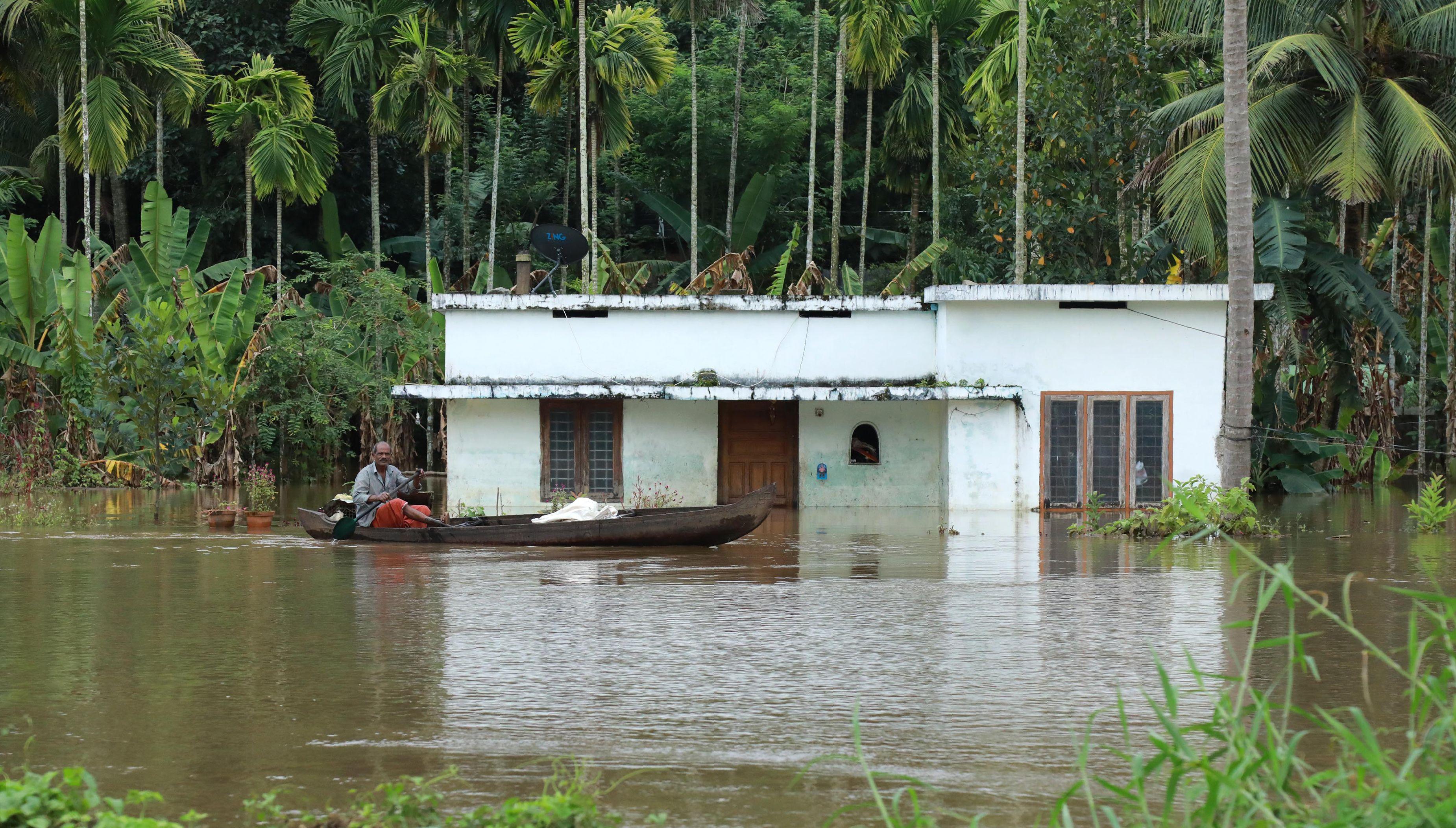 فيضانات جنوب الهند