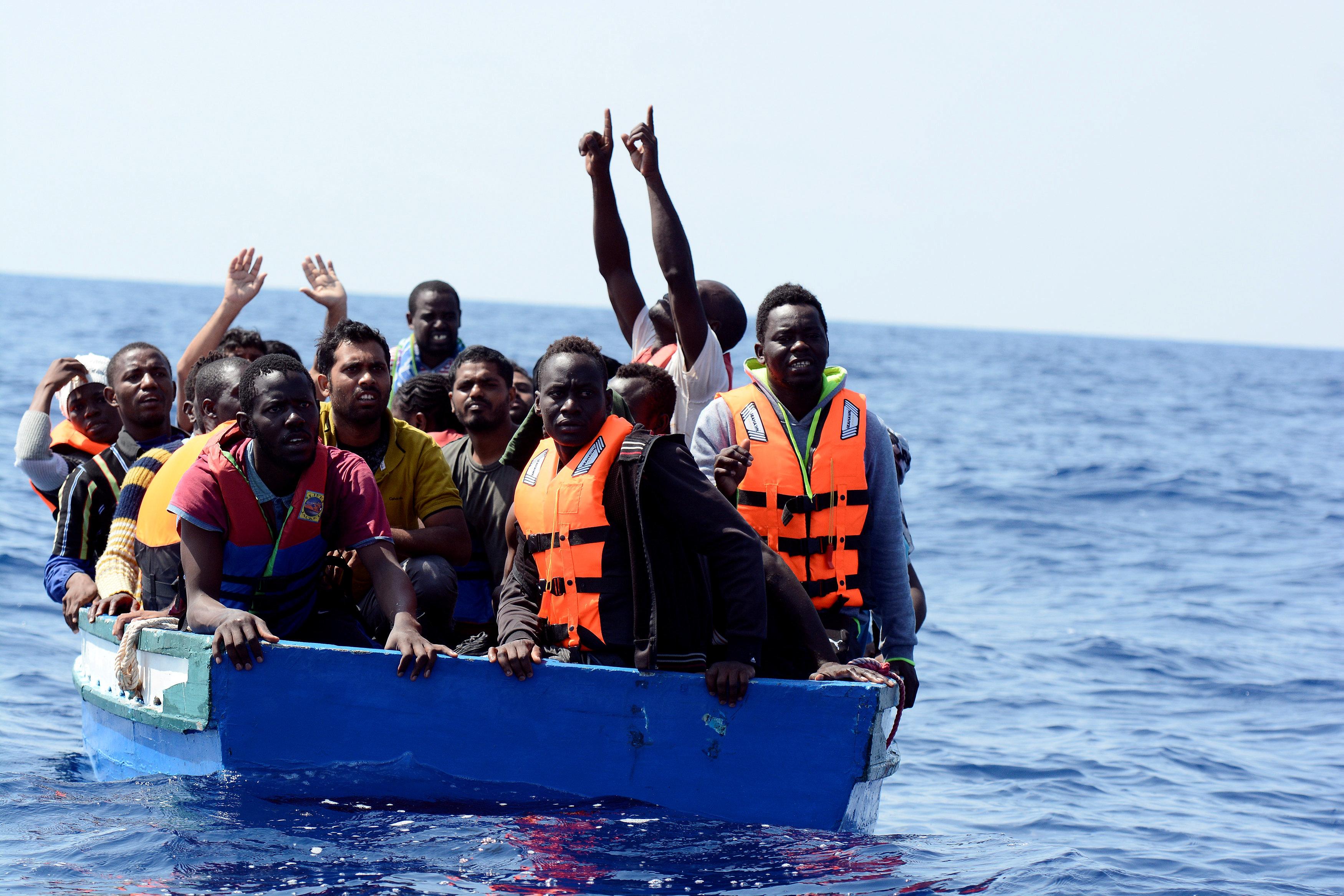 فرحة المهاجرين