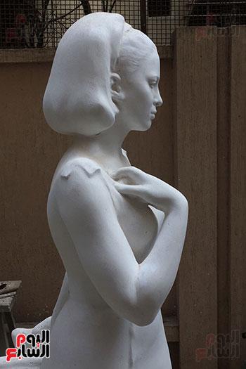 تمثال فاتن حمامة (8)