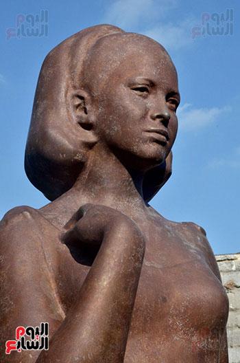 تمثال فاتن حمامة (6)