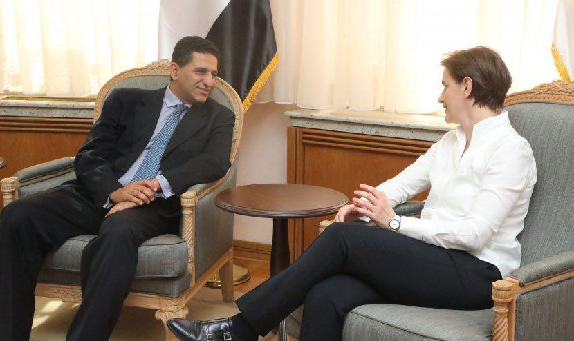 رئيسة وزراء صربيا تبحث مع سفير مصر ببلجراد سبل تعزيز العلاقات الاقتصادية (1)