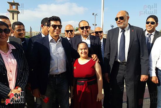 وزير-الرياضة-يتفقد-نادى-الجياد-بالإسكندرية-(2)