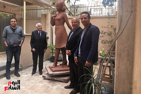 تمثال فاتن حمامة (4)
