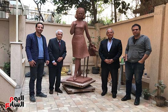 تمثال فاتن حمامة (7)
