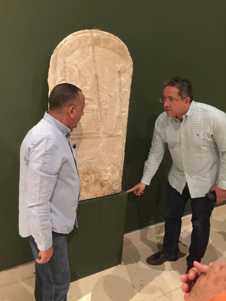 وزير الآثار يتابع أعمال متحف سوهاج لقرب افتتاحه (11)
