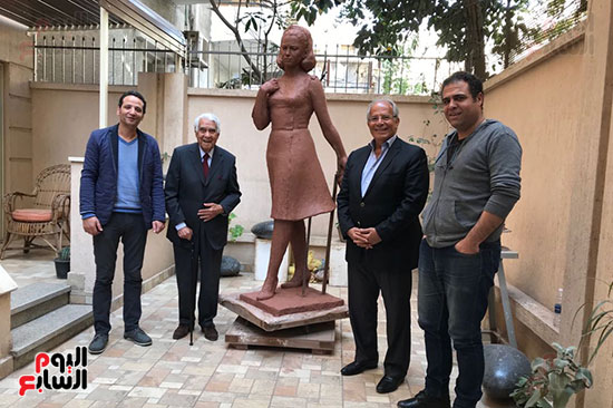 تمثال فاتن حمامة (5)