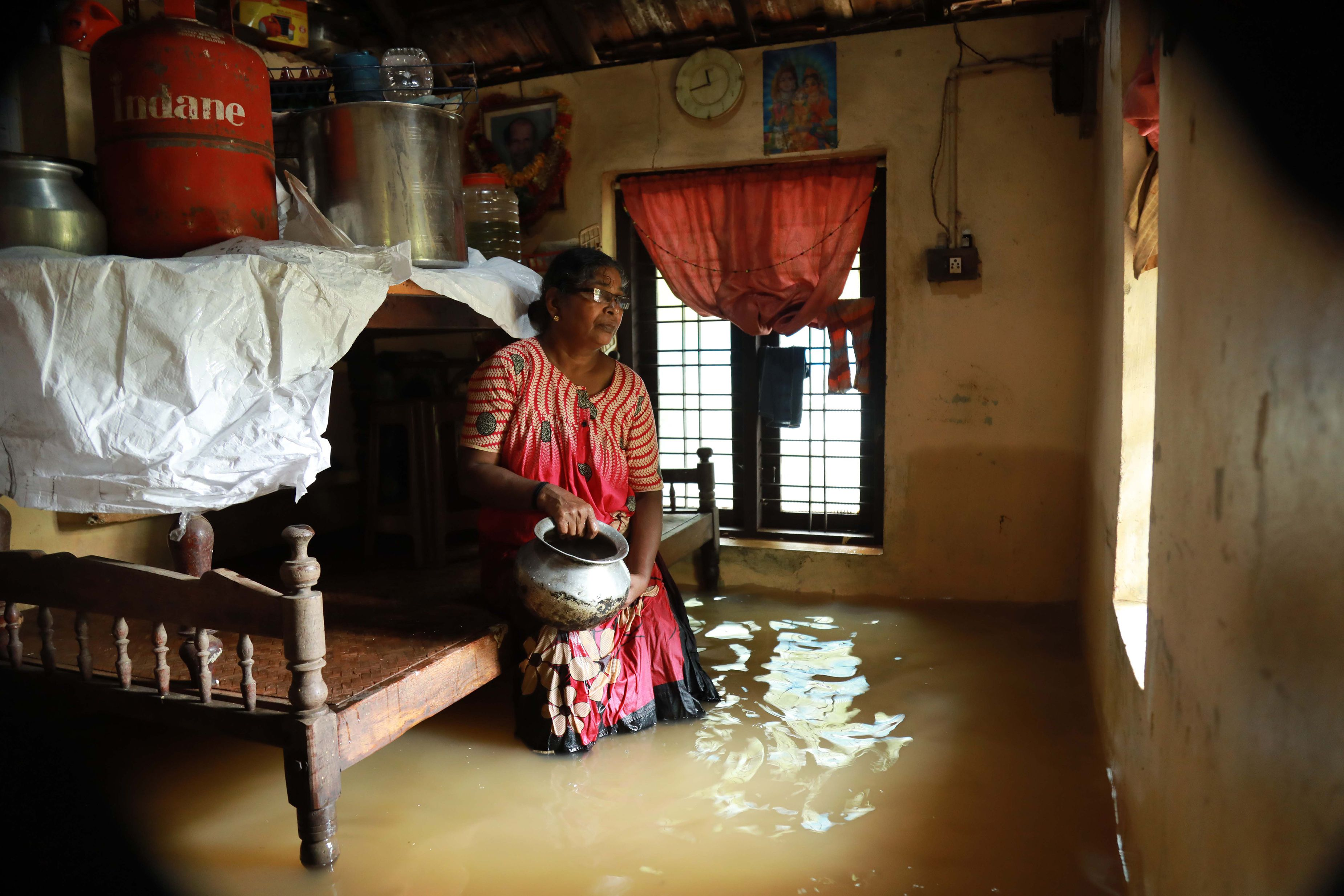 جانب من الفيضانات فى الهند