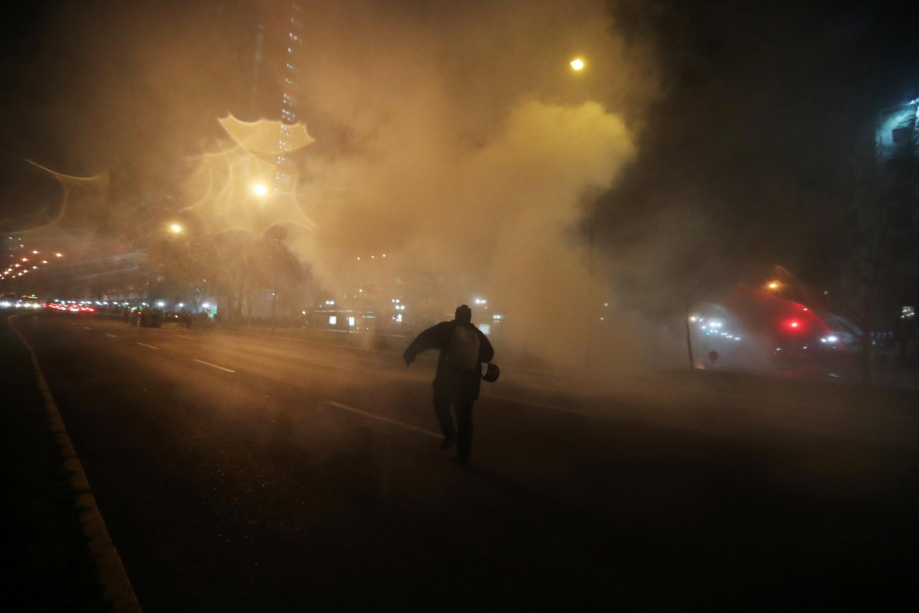 تصاعد العنف فى تشيلى