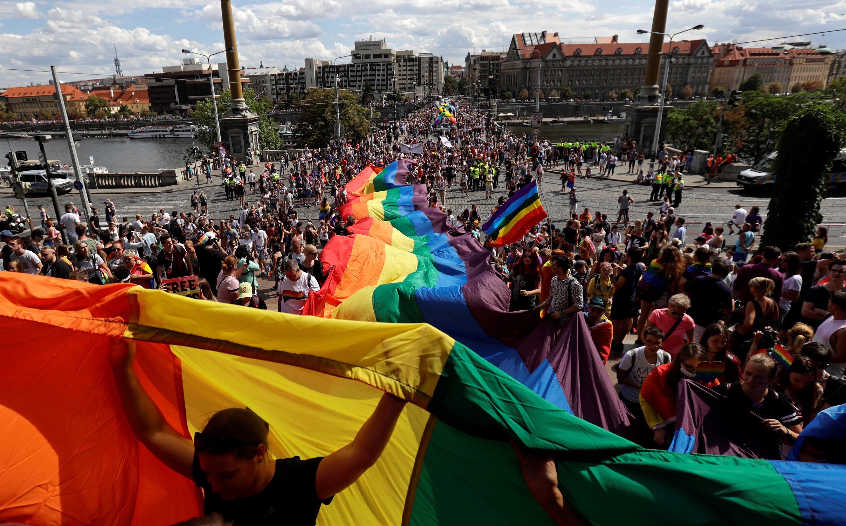 مظاهرات المثليين فى التشيك