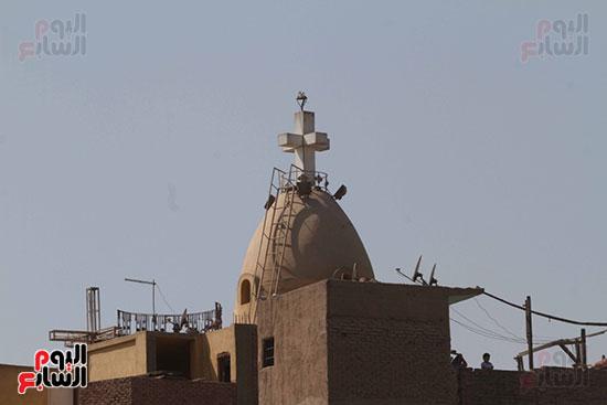 صور تفجير كنيسة العذراء بمسطرد (8)