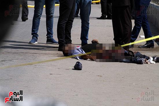 صور تفجير كنيسة العذراء بمسطرد (1)