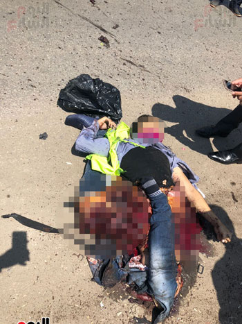 قوات الأمن تحبط محاولة إرهابى تفجير نفسه بمحيط كنيسة العذراء بمسطرد