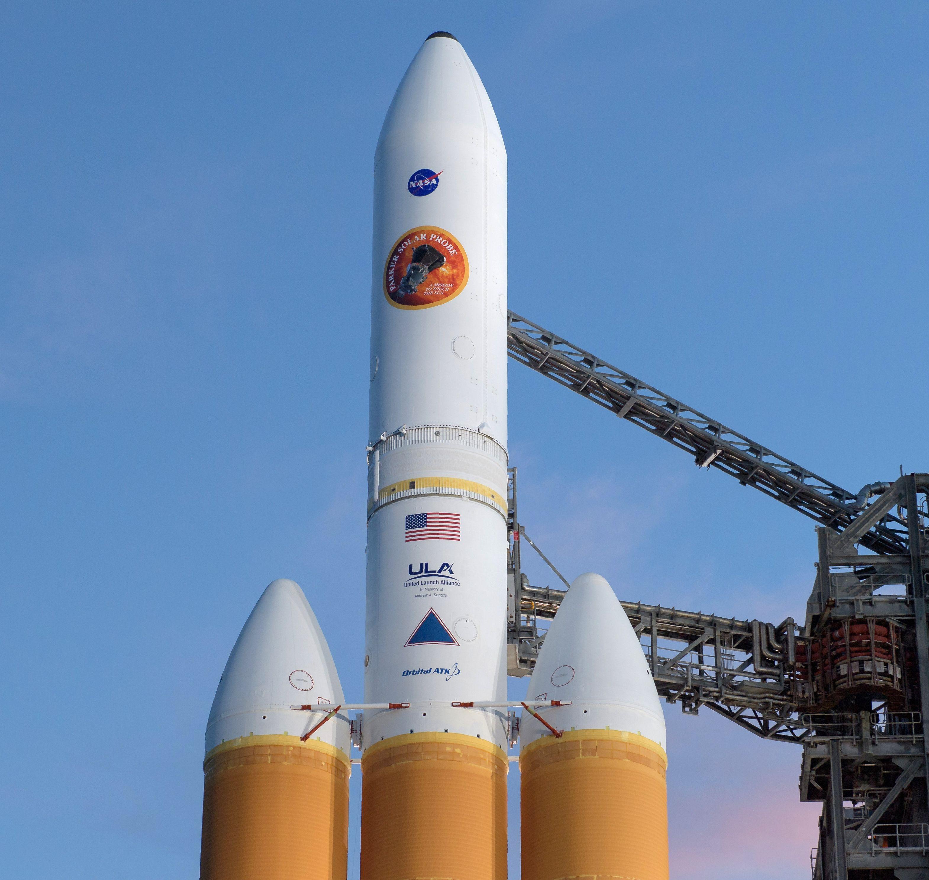 صاروخ ناسا يحمل بداخله المسبار