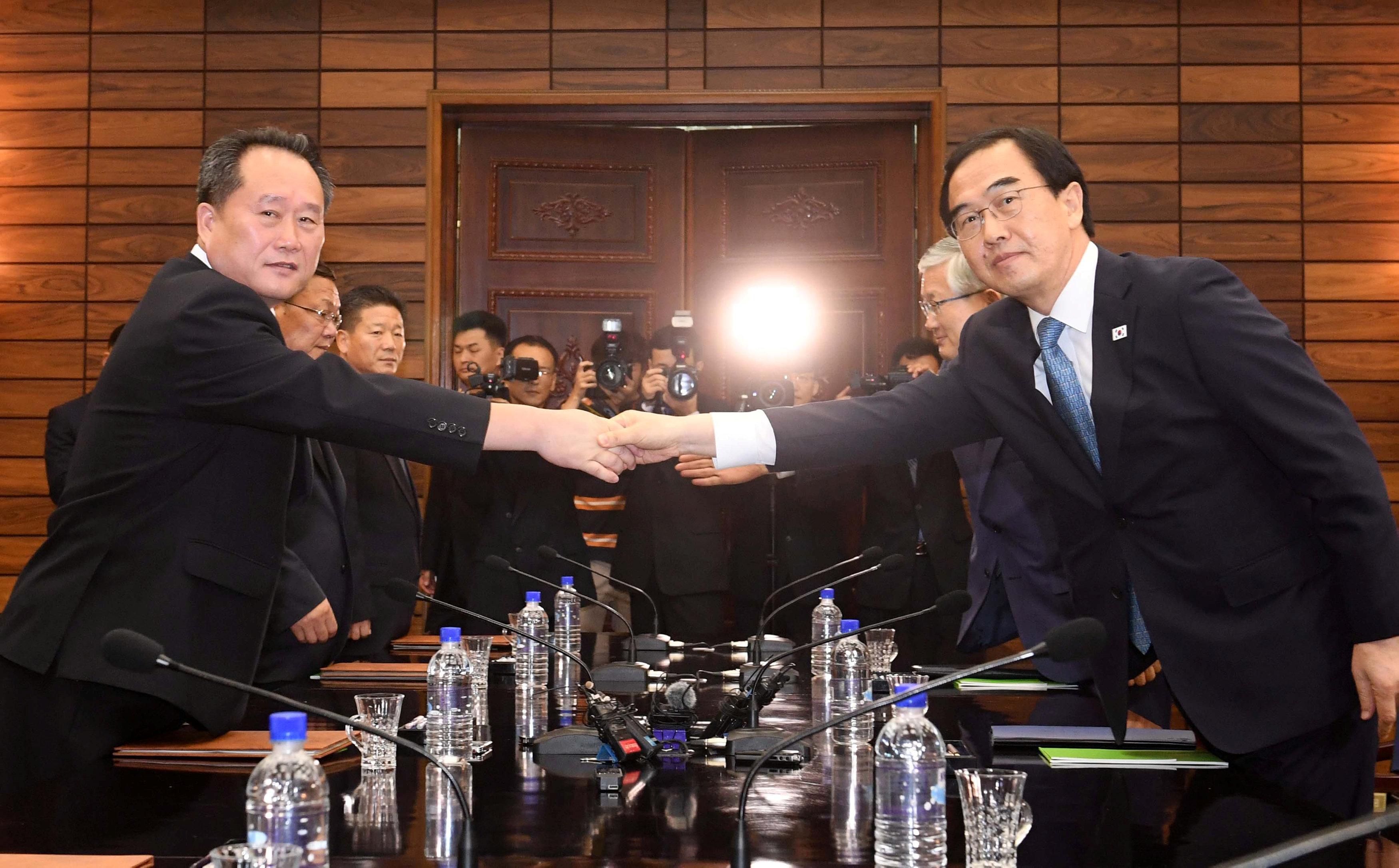 المحادثات بين الكوريتين