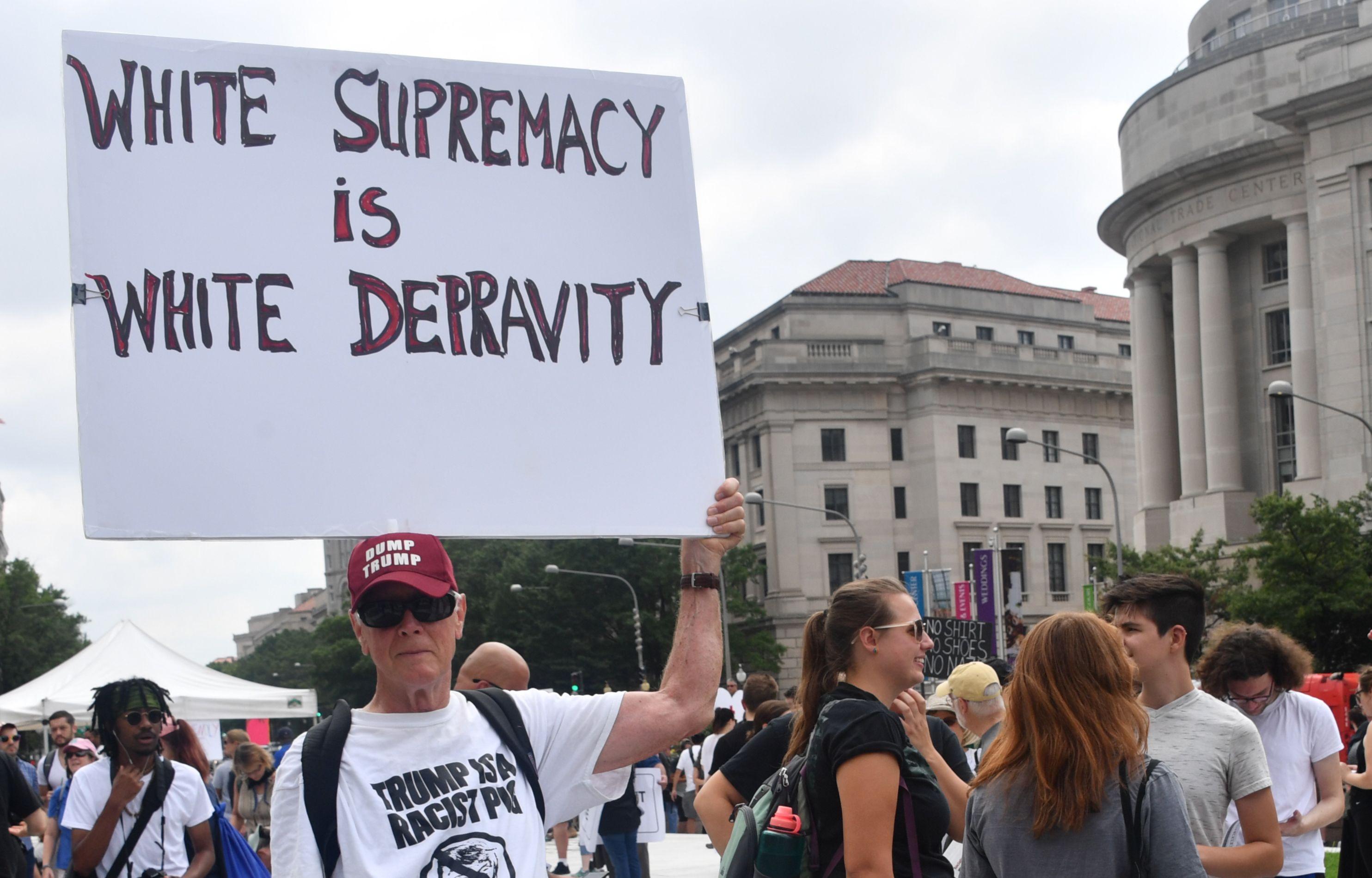 جانب من المظاهرات الأمريكية