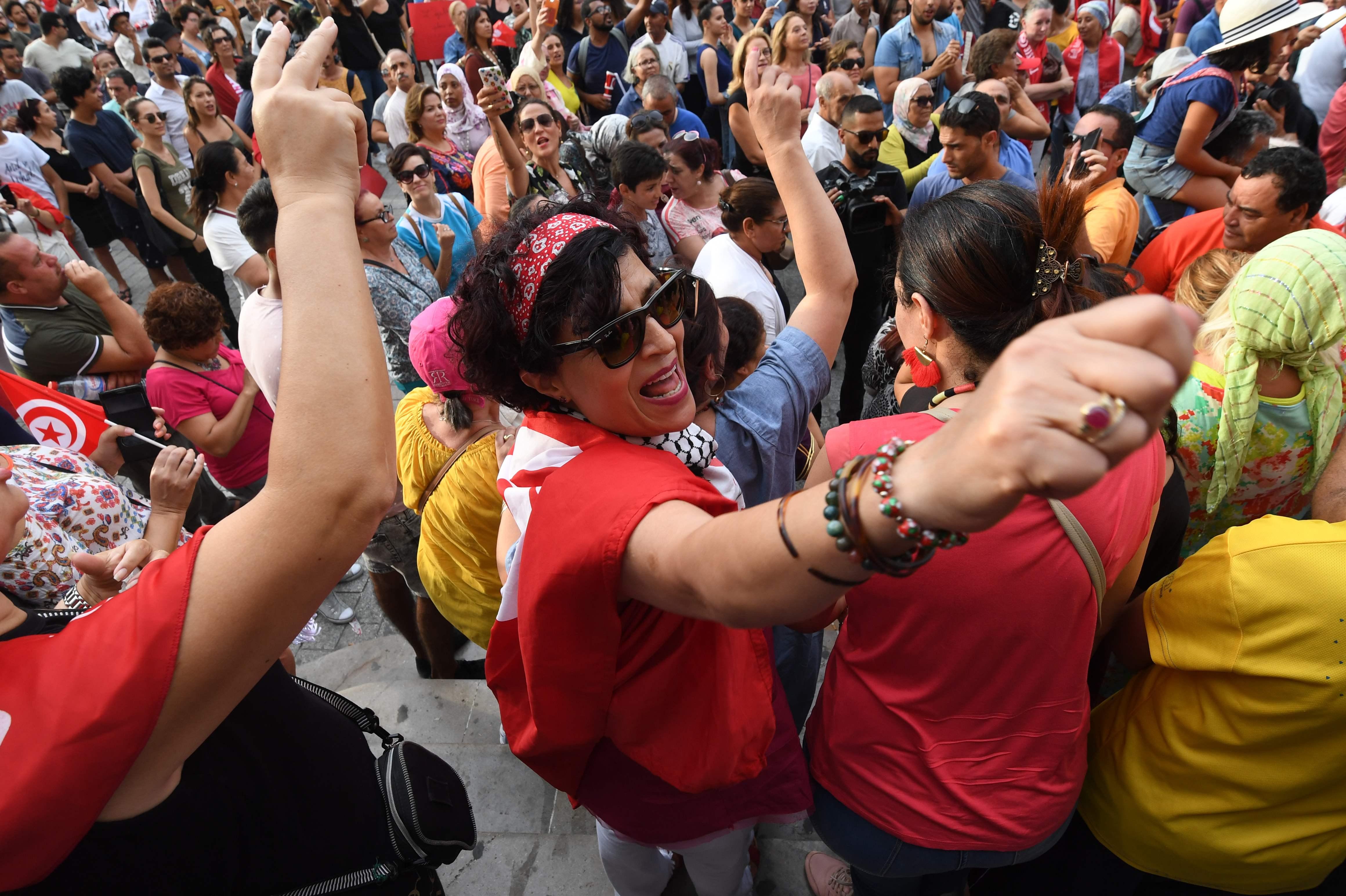 مسيرات تونس