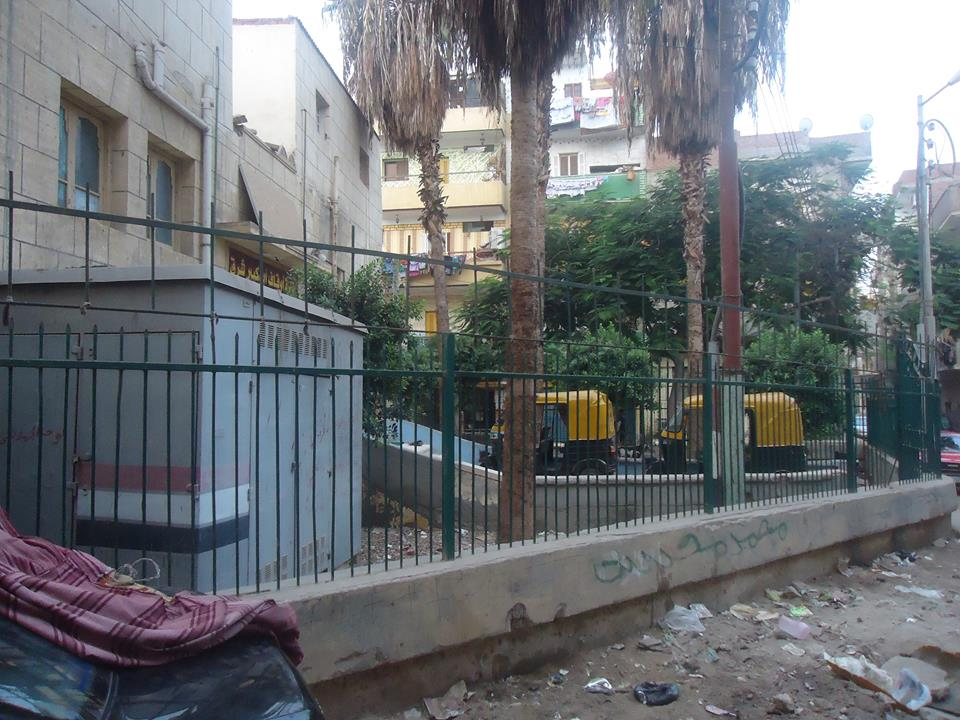 حديقة مسجد النجدى بأبو كبير بالشرقية (2)