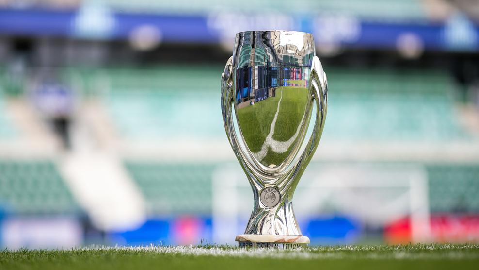 كأس السوبر الأوروبى فى ملعب المباراة