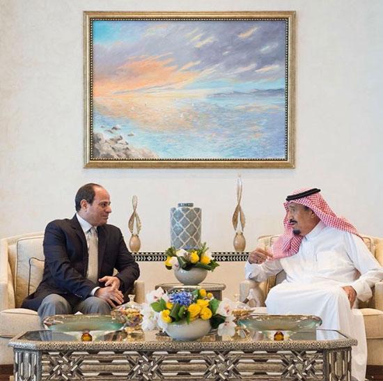 الرئيس السيسى والملك سلمان (1)