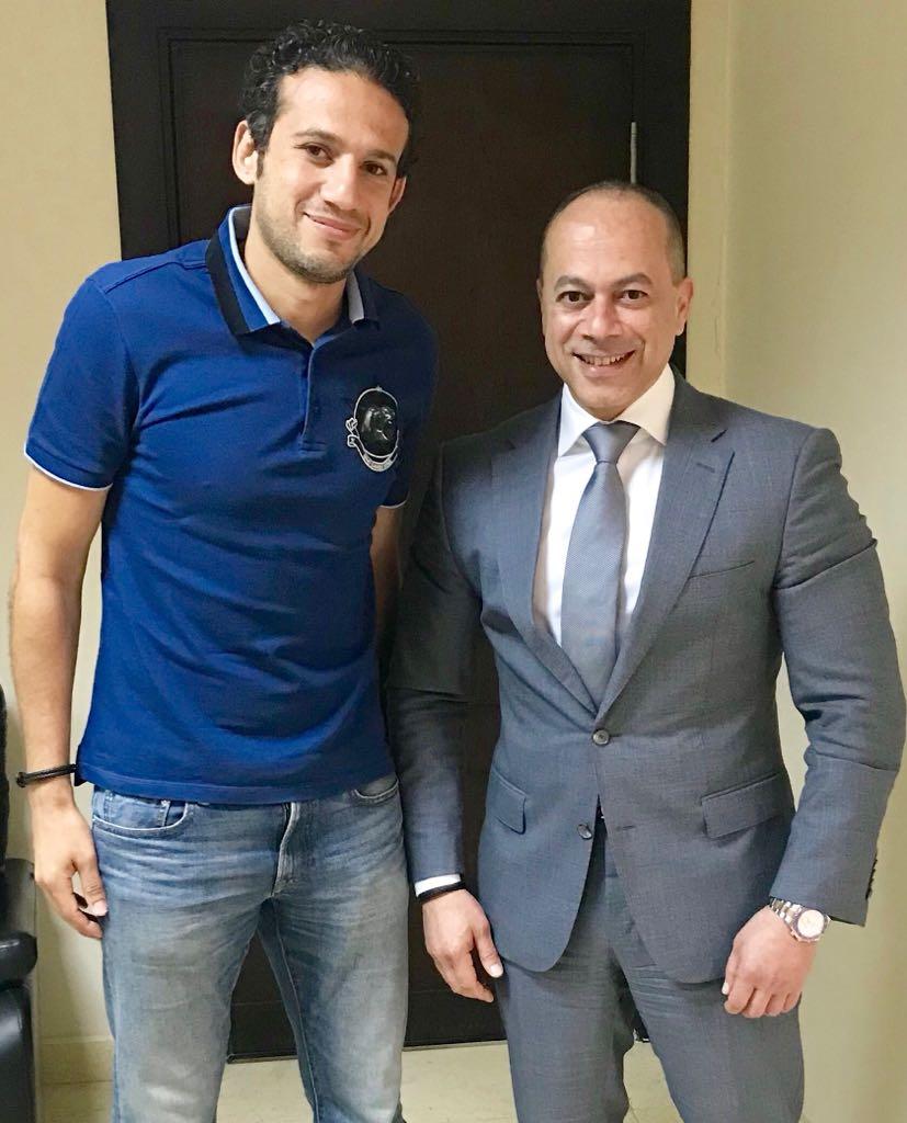 محمد فضل وتامر مرسى