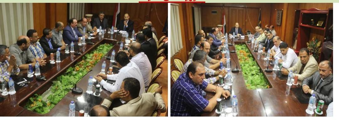قيادات وزارة الداخلية تعقد لقاءات مع التجار (3)