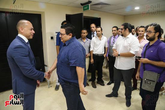 تامر مرسى رئيس مجلس إدارة إعلام المصريين