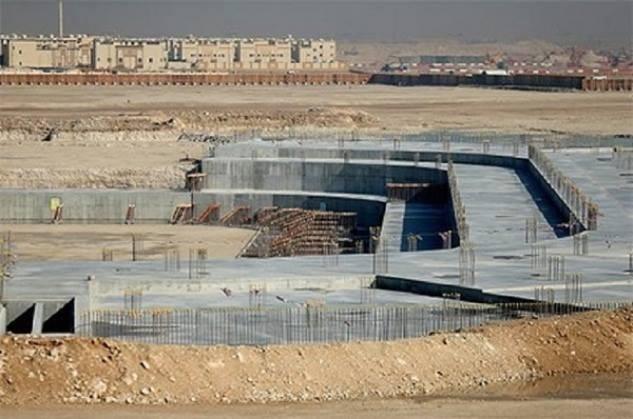 أعمال بناء ملاعب كأس العالم 2022