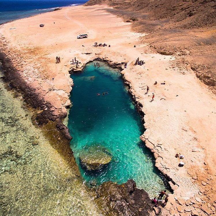 بحيرة النيزك المبهرة