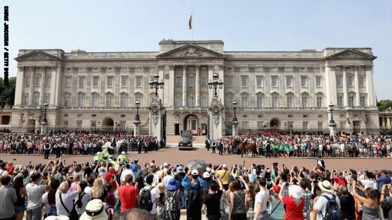 قصر باكنجهام لندن
