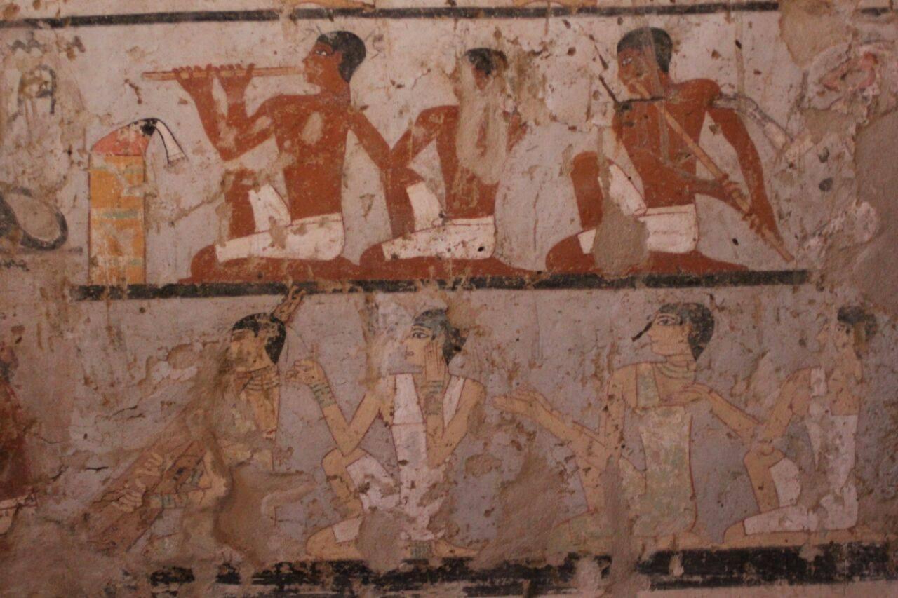 مقبرة كاهنة فرعونية عمرها 4400 عام