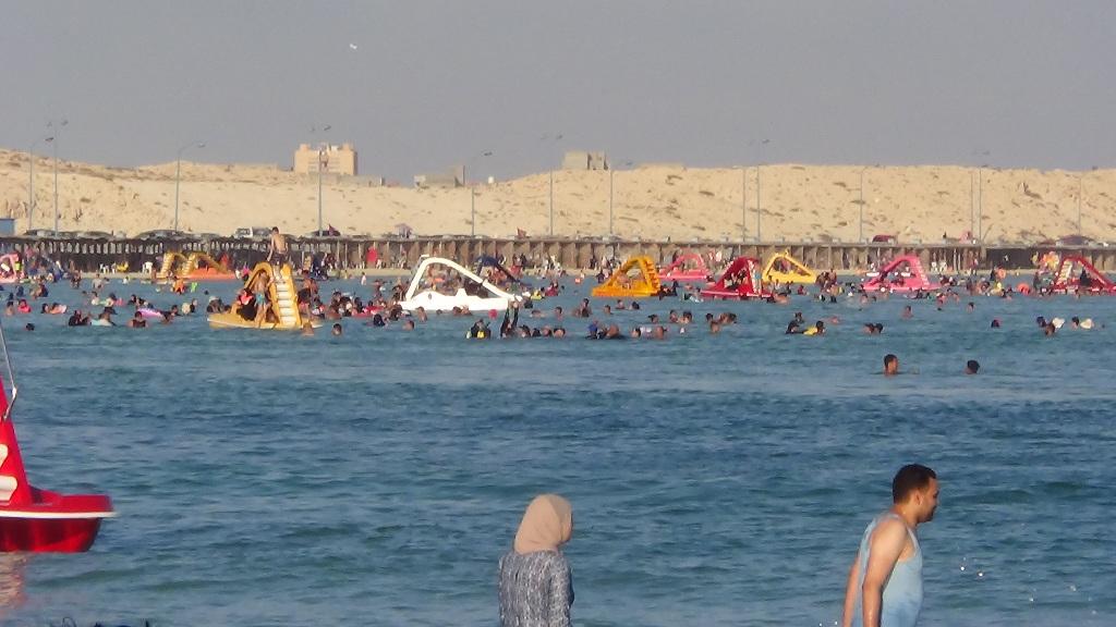 شاطئ روميل أشهر شواطئ مدينة مرسى مطروح