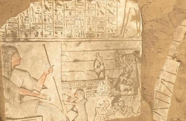 مقبرة قائد الجيش المصرى فى عهد رمسيس الثانى