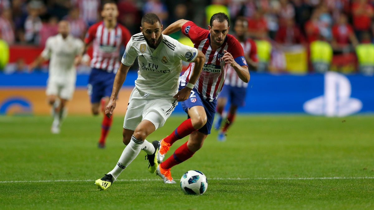 ريال مدريد خسر السوبر الاوروبي ضد اتلتيكو مدريد