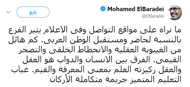 محمد البرادعى