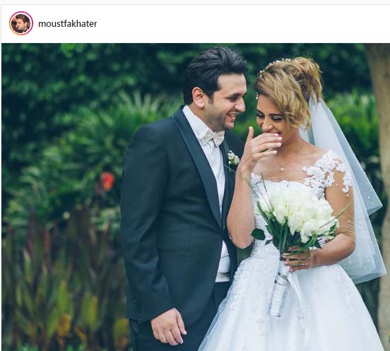 53f1660e7 أخر كلام | مصطفى خاطر يهنئ زوجته على مرور عام من زفافهما