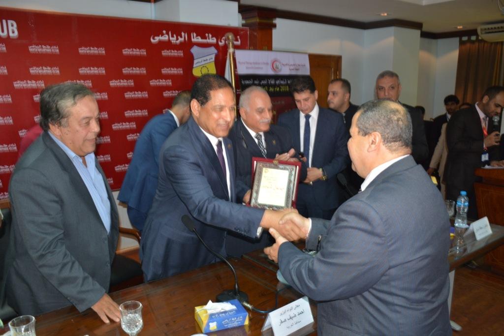 محافظ الغربية يشارك فى المؤتمر العلمى السنوى الثالث  (6)