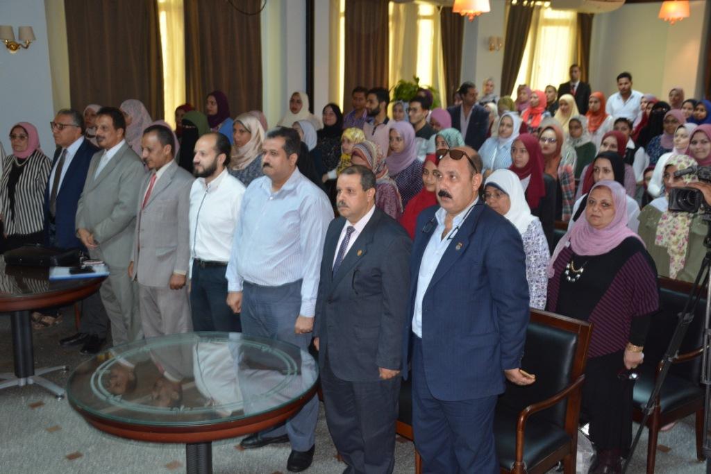 محافظ الغربية يشارك فى المؤتمر العلمى السنوى الثالث  (3)