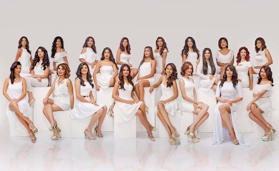 متسابقات ملكة جمال مصر السنوات الماضية (1)