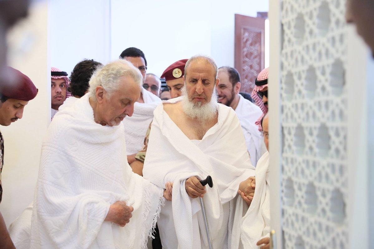 أمير مكة المكرمة فى مسجد نمرة