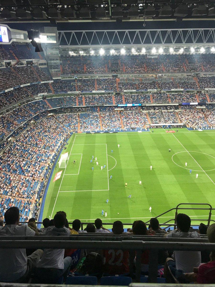 جماهير ريال مدريد غائبة عن المدرجات