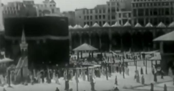 الكعبة تظهر فى الفيلم قبل 80 عام