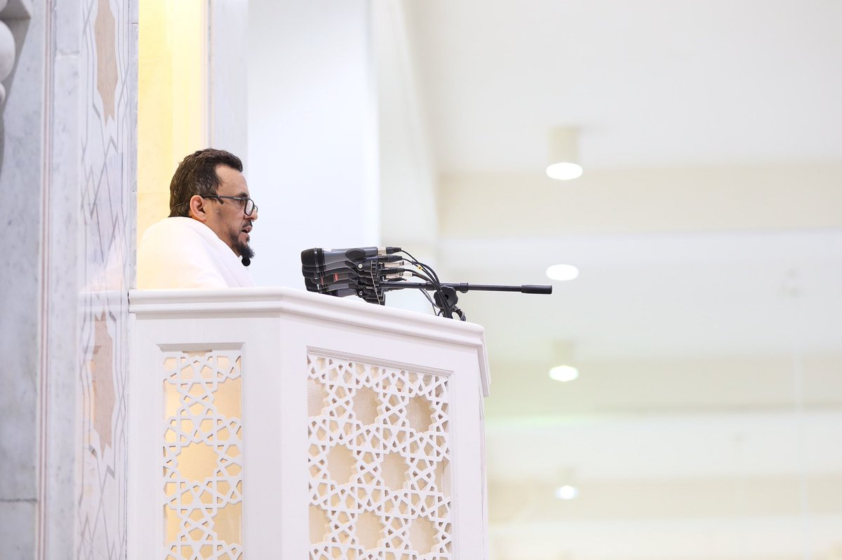 إمام وخطيب مسجد نمرة بالسعودية