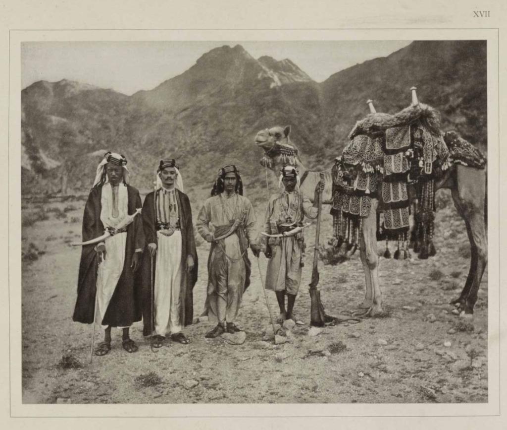 صورة تاريخية لسكان مكة المكرمة