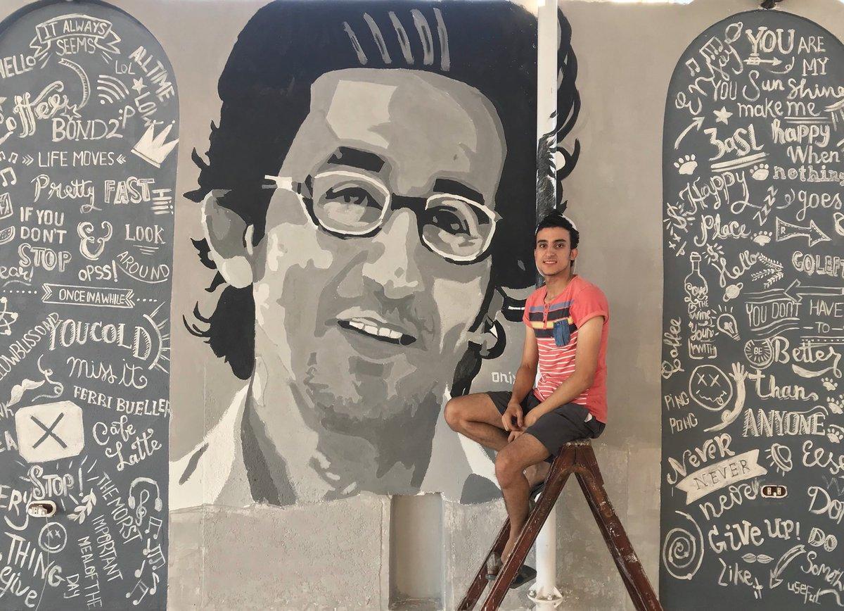 جرافيتى أحمد حلمى