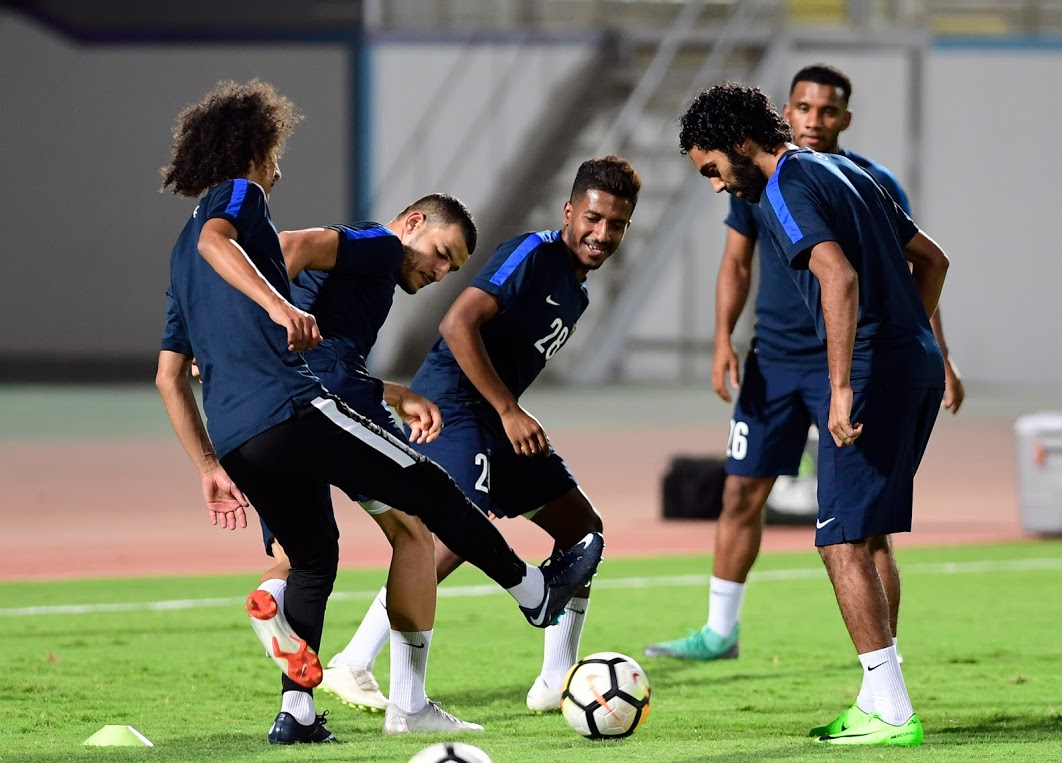 حسين الشحات فى تدريبات العين قبل مواجهة السوبر (3)