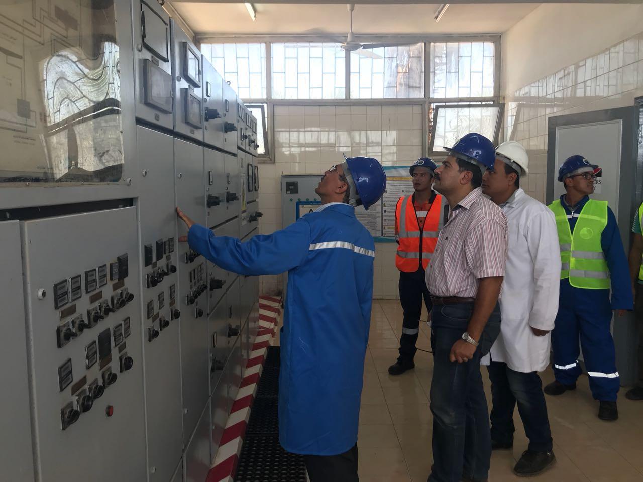 محطة أوليلة بالدقهلية تحصل شهادة الإدارة الفنية المستدامة (5)