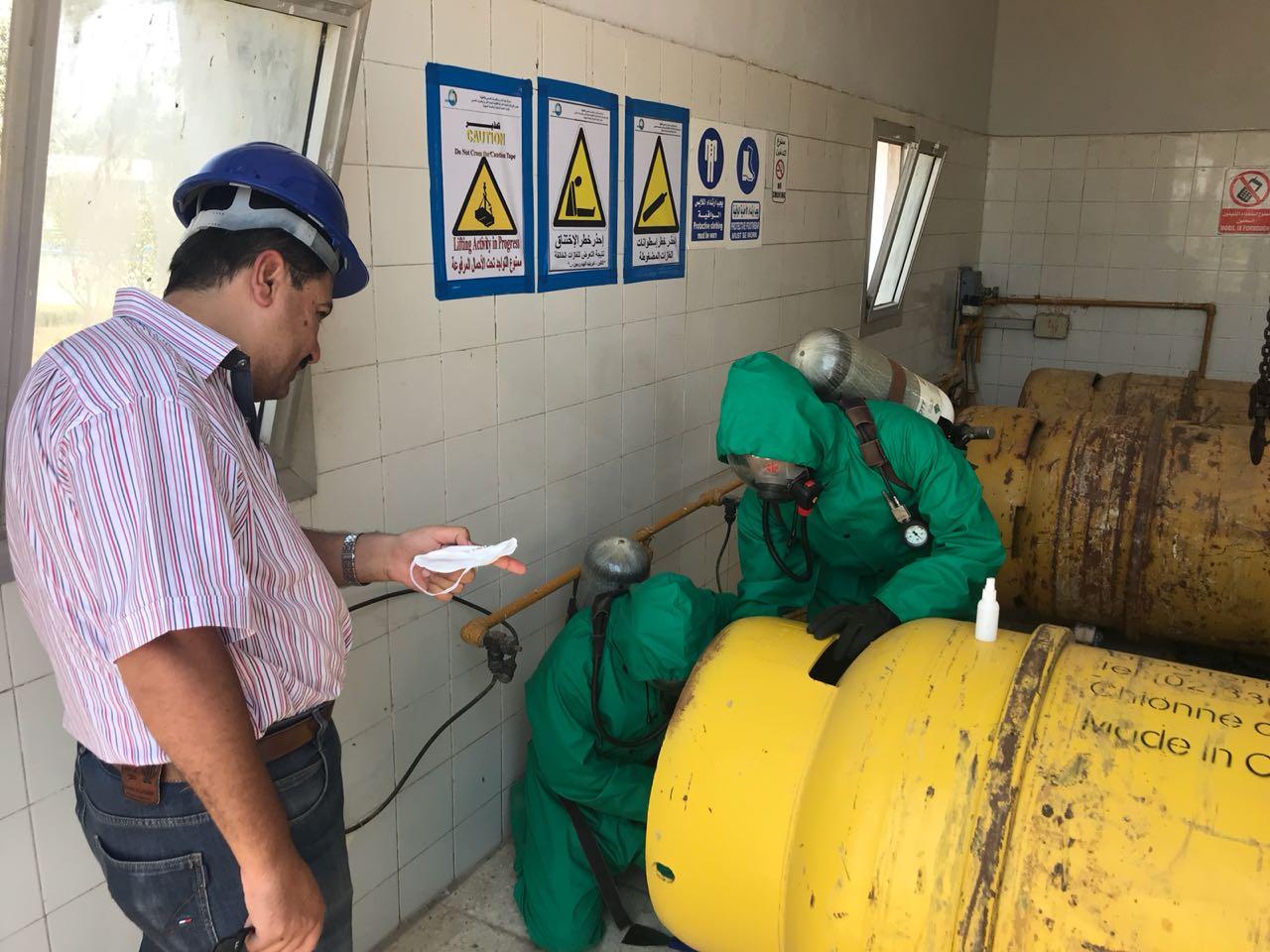 محطة أوليلة بالدقهلية تحصل شهادة الإدارة الفنية المستدامة (1)