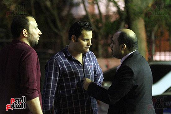 صور عزاء والد أحمد خيرى  (25)