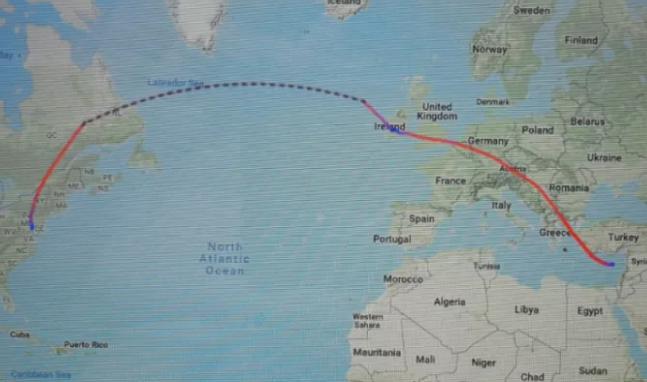 رحلة وزير خارجية قطر من قبرص لامريكا