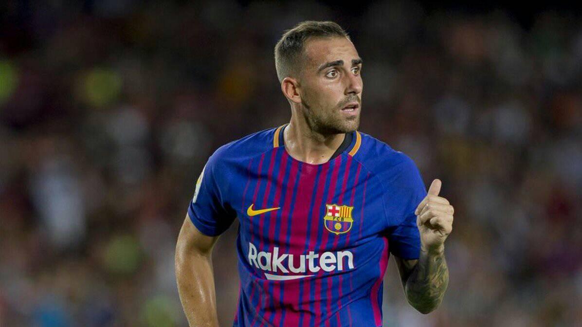 باكو الكاسير لاعب برشلونة